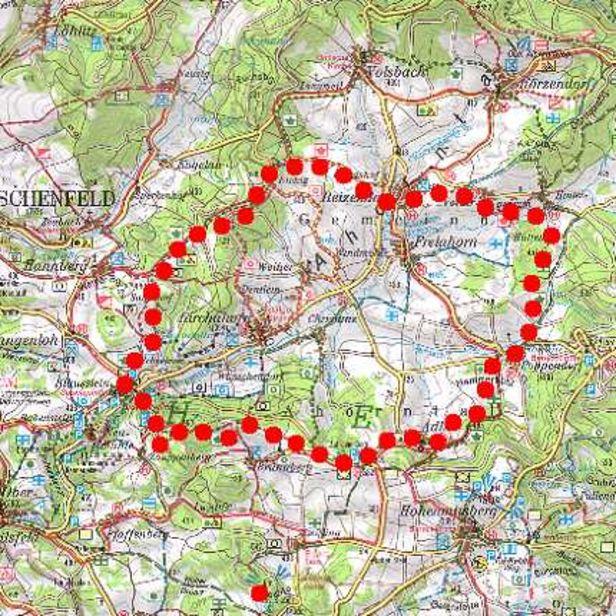 Fränkische Schweiz Karte.Kleiner Ahorntal Rundwanderweg Wandern Im Ahorntal In Der