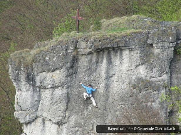 Klettersteig Fränkische Schweiz : Klettern klettersteige und in obertrubach